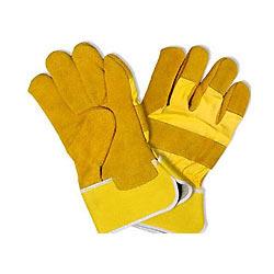 Žlté pracovné rukavice
