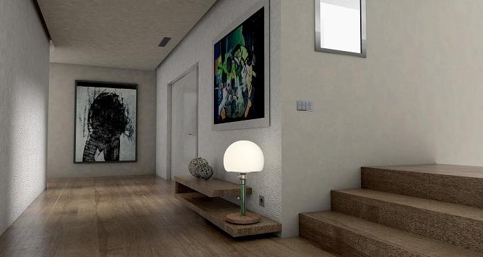 Podlahové lišty do obývacej miestnosti