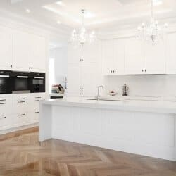 Čistý dizajn kuchyne